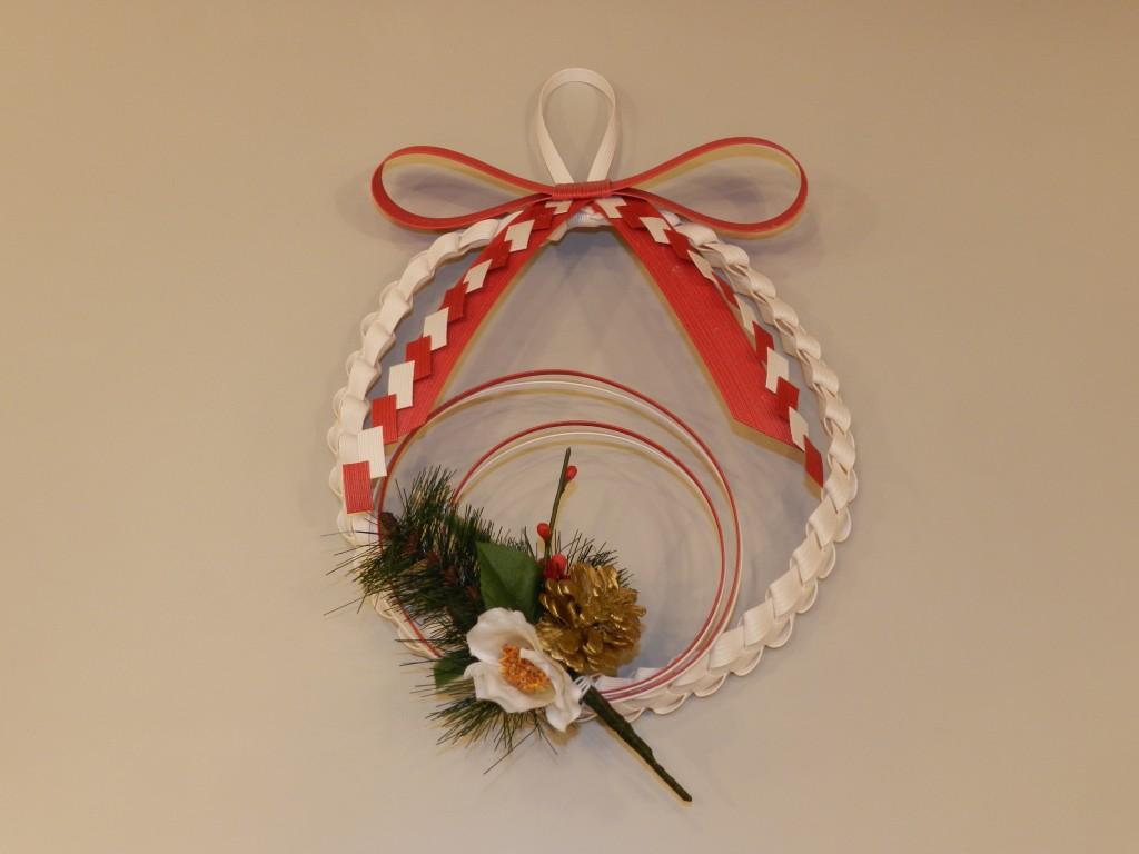 【体験教室】ペーパークラフト教室で「お正月飾り」作りを開催しました
