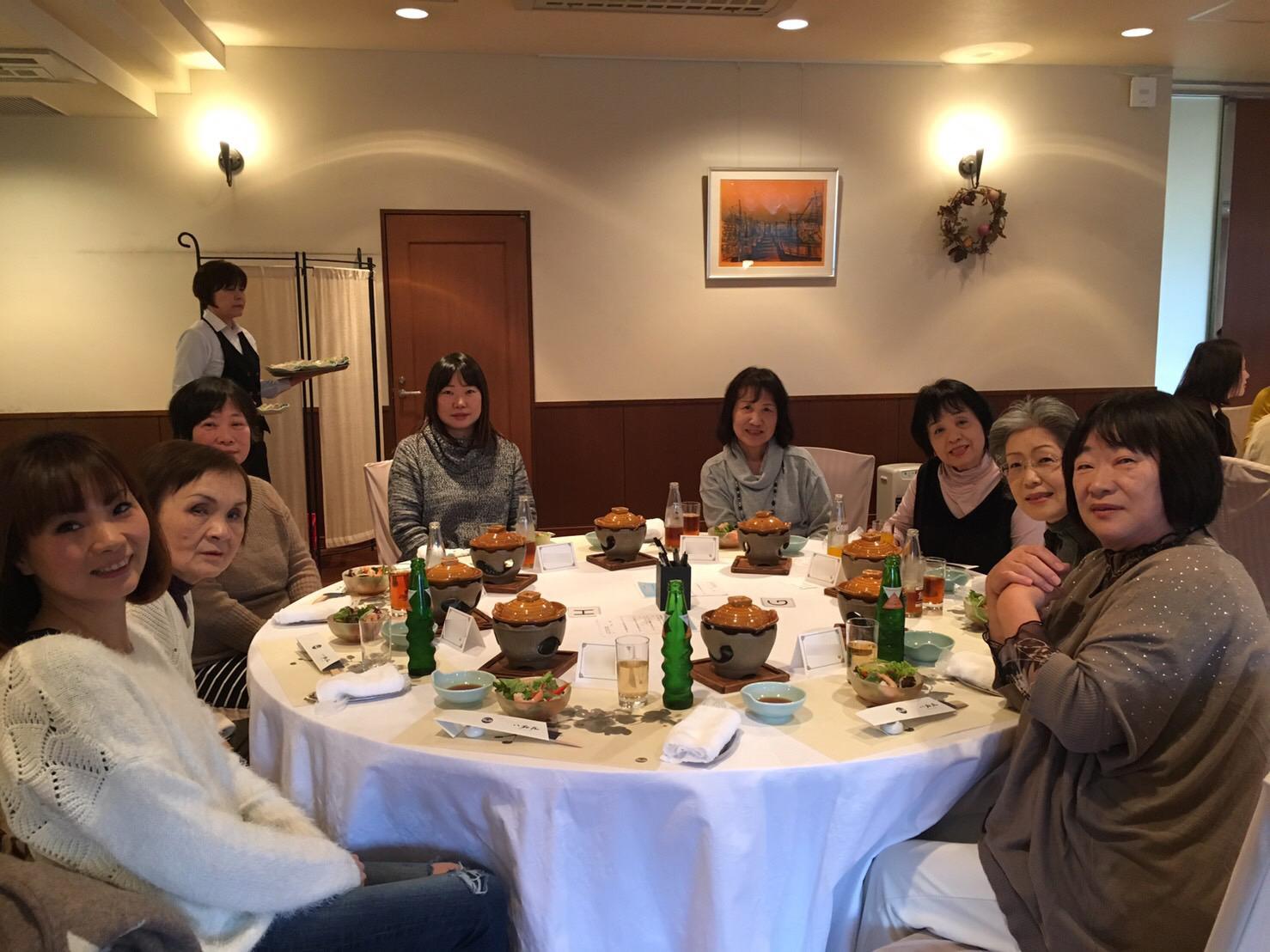 【ランチ会】第2回・第3回 冬のちょっと贅沢ランチ会を開催しました