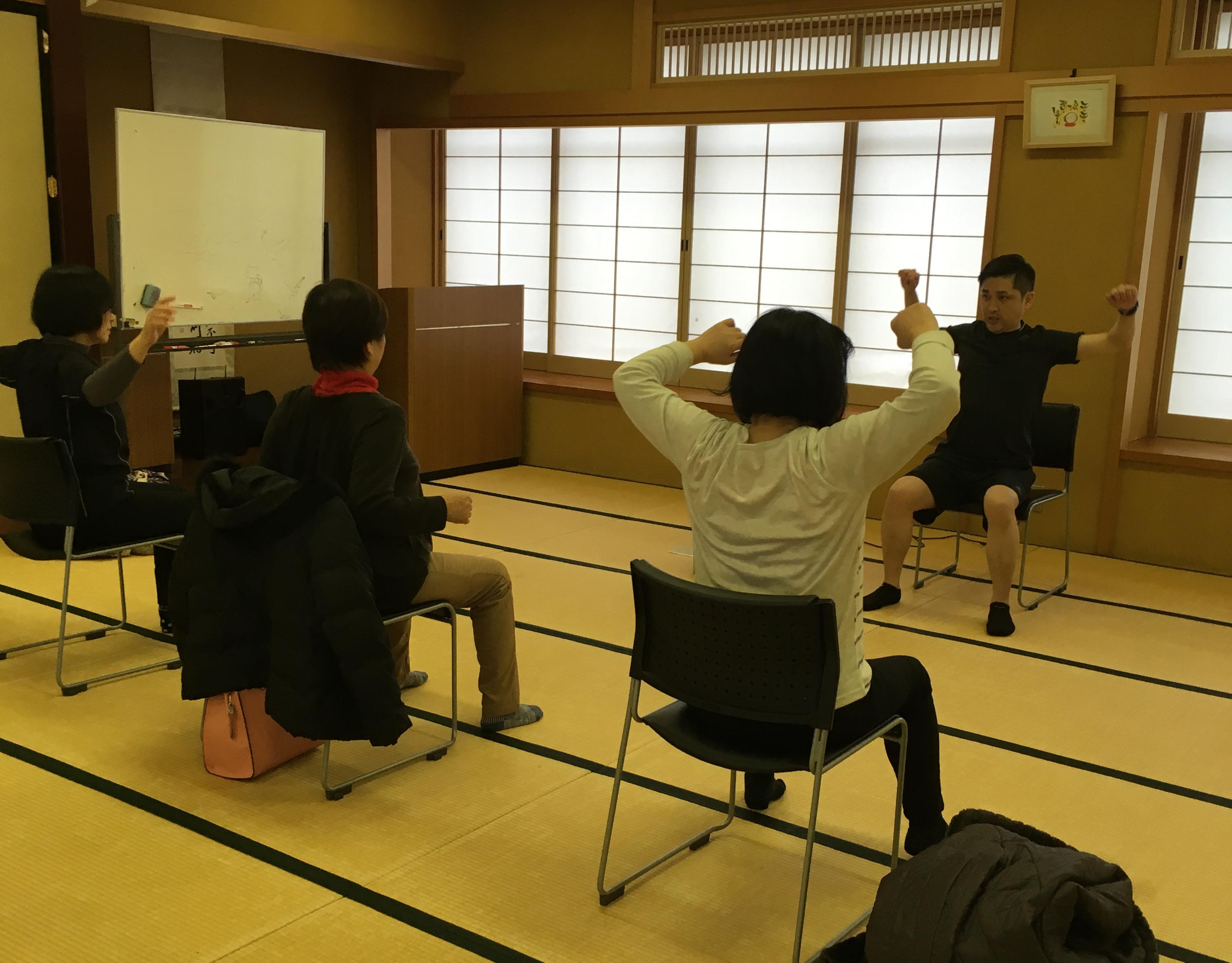 【体験教室】ワンツー体操を体験して頂きました