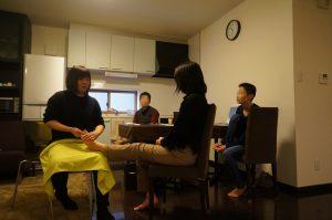 【勉強会】足つぼマッサージ勉強会を開催しました