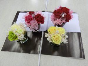【体験教室】枯れない魔法のお花で作るアレンジメント 第2弾